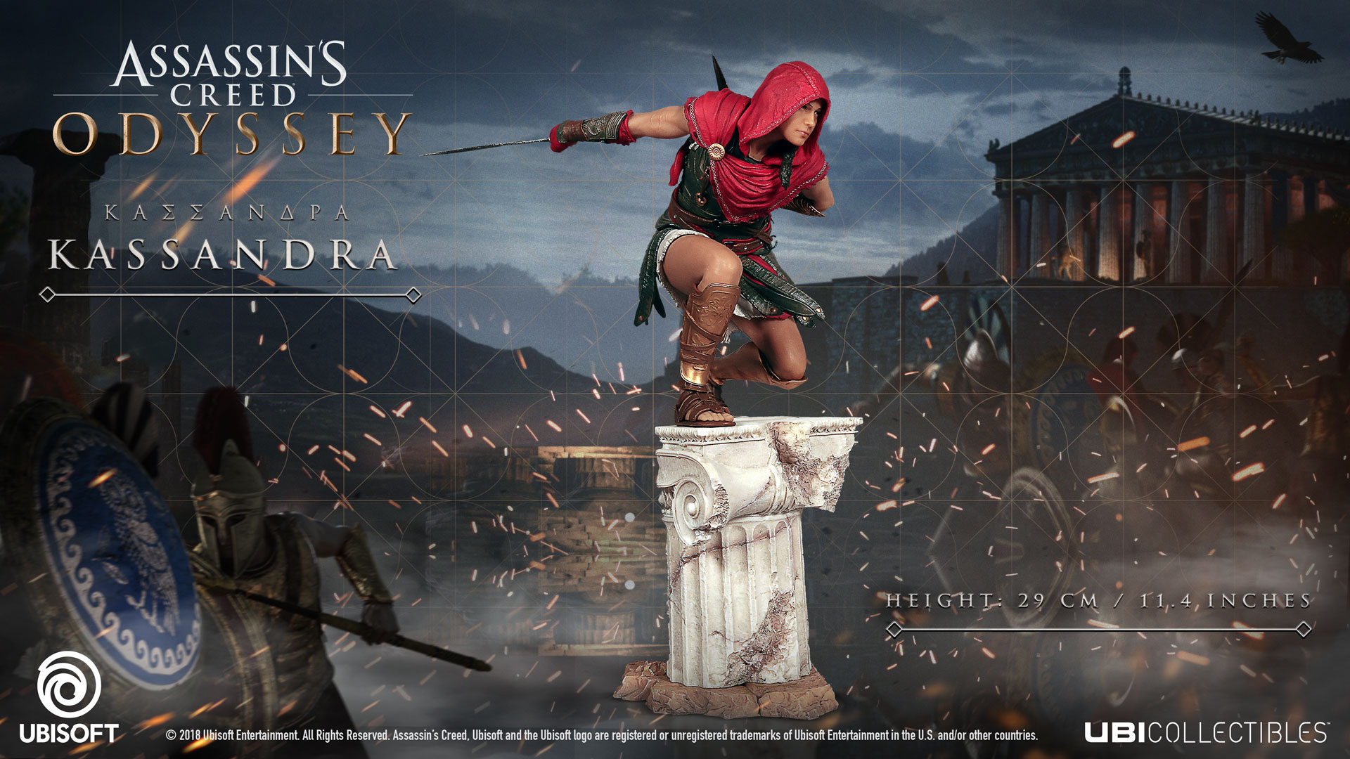 Assassin S Creed Odyssey Collector S Edition And Their Figurines