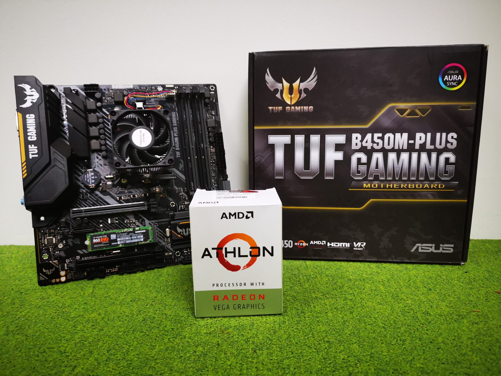 2018 Q4 Budget Pc Build Review Amd Athlon 200ge With Asus B450m Plus Gaming The Tech Revolutionist