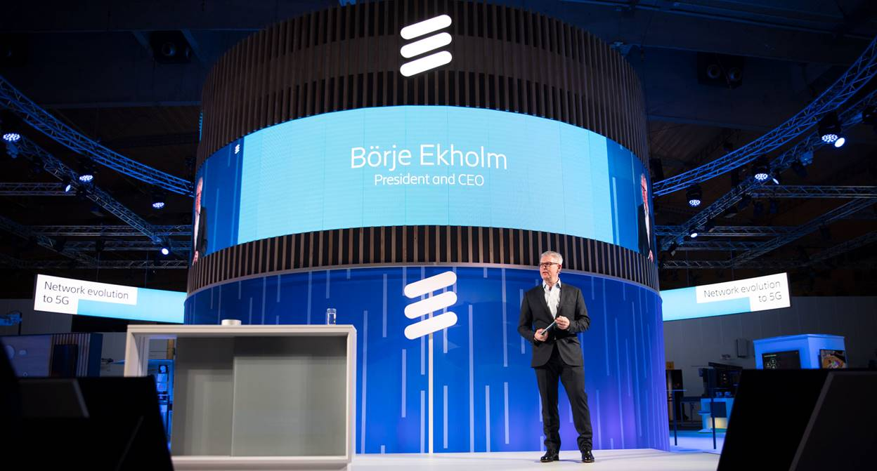 Börje Ekholm: Ericsson to switch on 5G globally in 2019 - The Tech