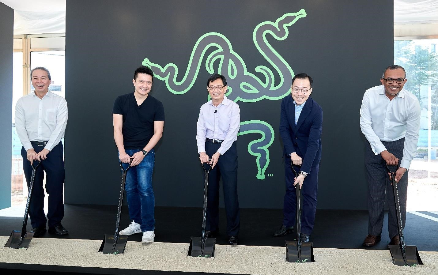 RAZER CELEBRATES GROUNDBREAKING OF NEW SOUTHEAST ASIA HQ IN