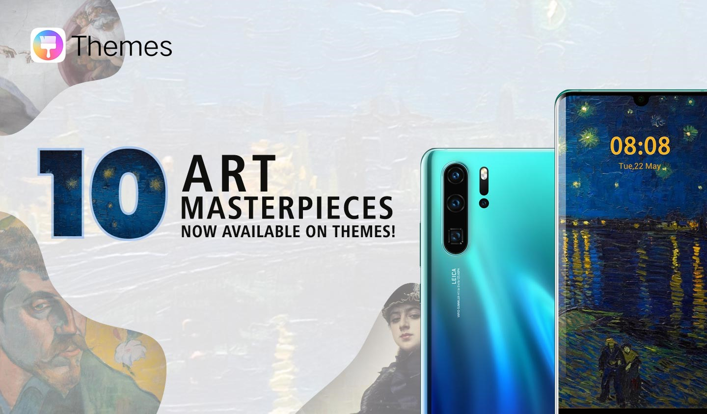 Huawei enhances HUAWEI P30 Series user experience with new famous
