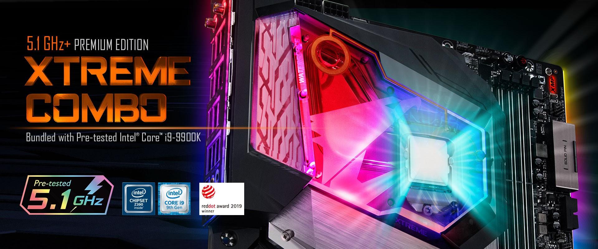 GIGABYTE Launches Z390 AORUS XTREME WATERFORCE 5G Premium