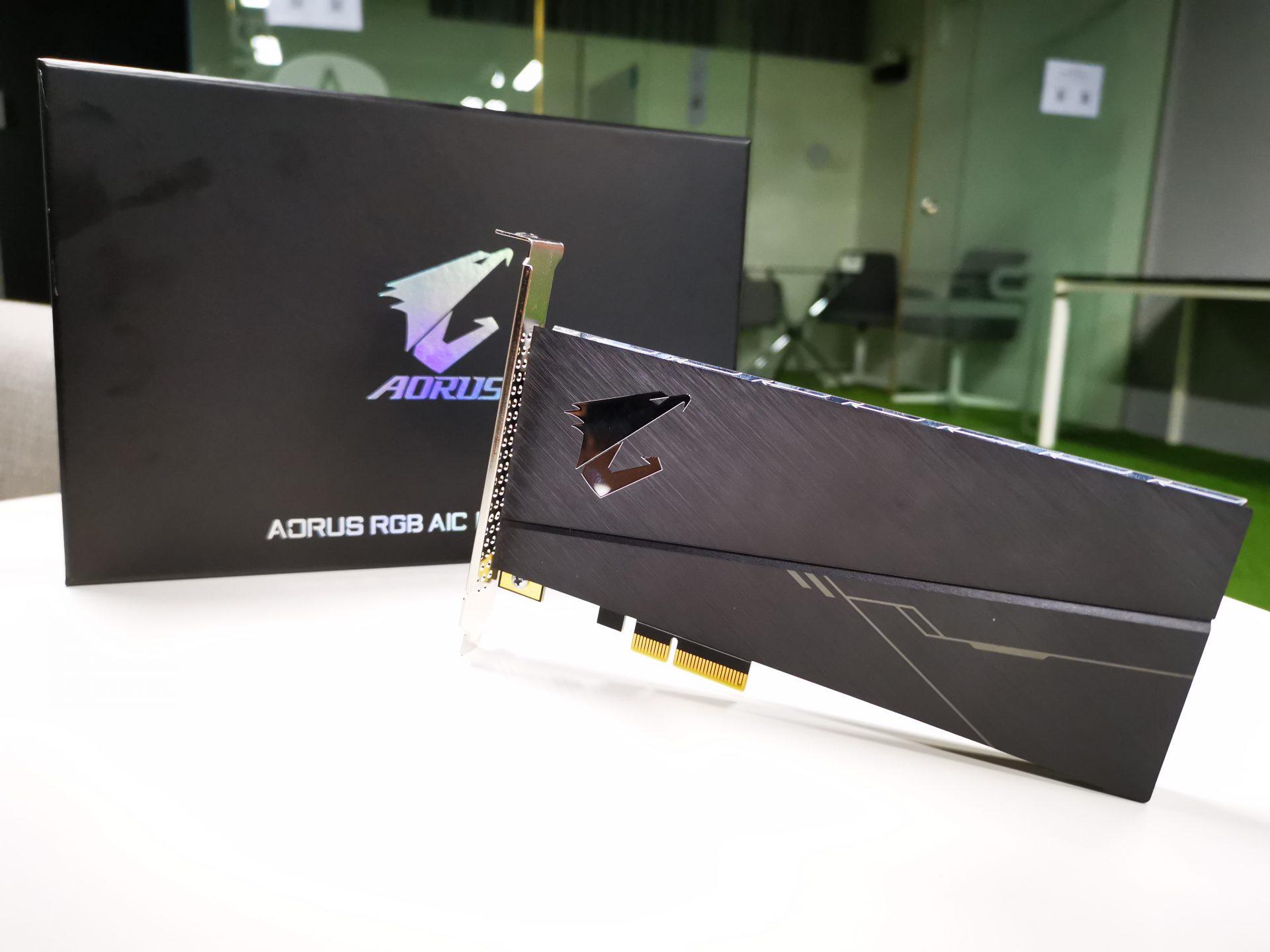 Gigabyte AORUS RGB AIC NVMe SSD Review - The Tech Revolutionist