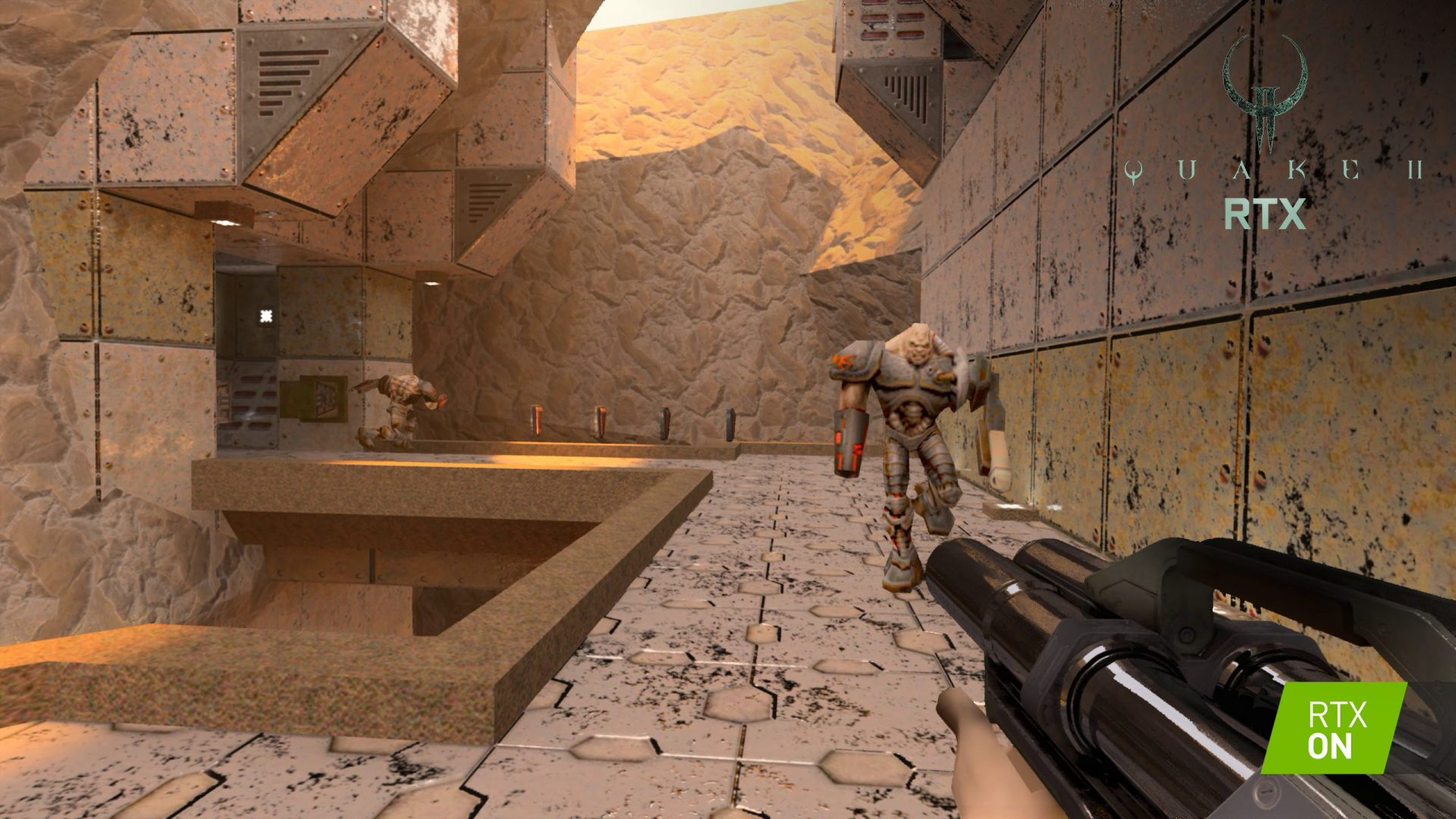 Relive a Classic! NVIDIA Remakes 'Quake II' with Stunning ...