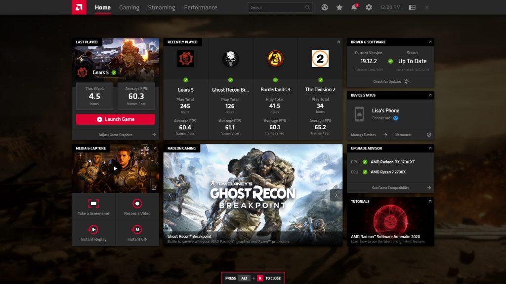 Amd Radeon Software Adrenalin 2020 Edition Features And Performance Upgrades For Amd Gpus The Tech Revolutionist